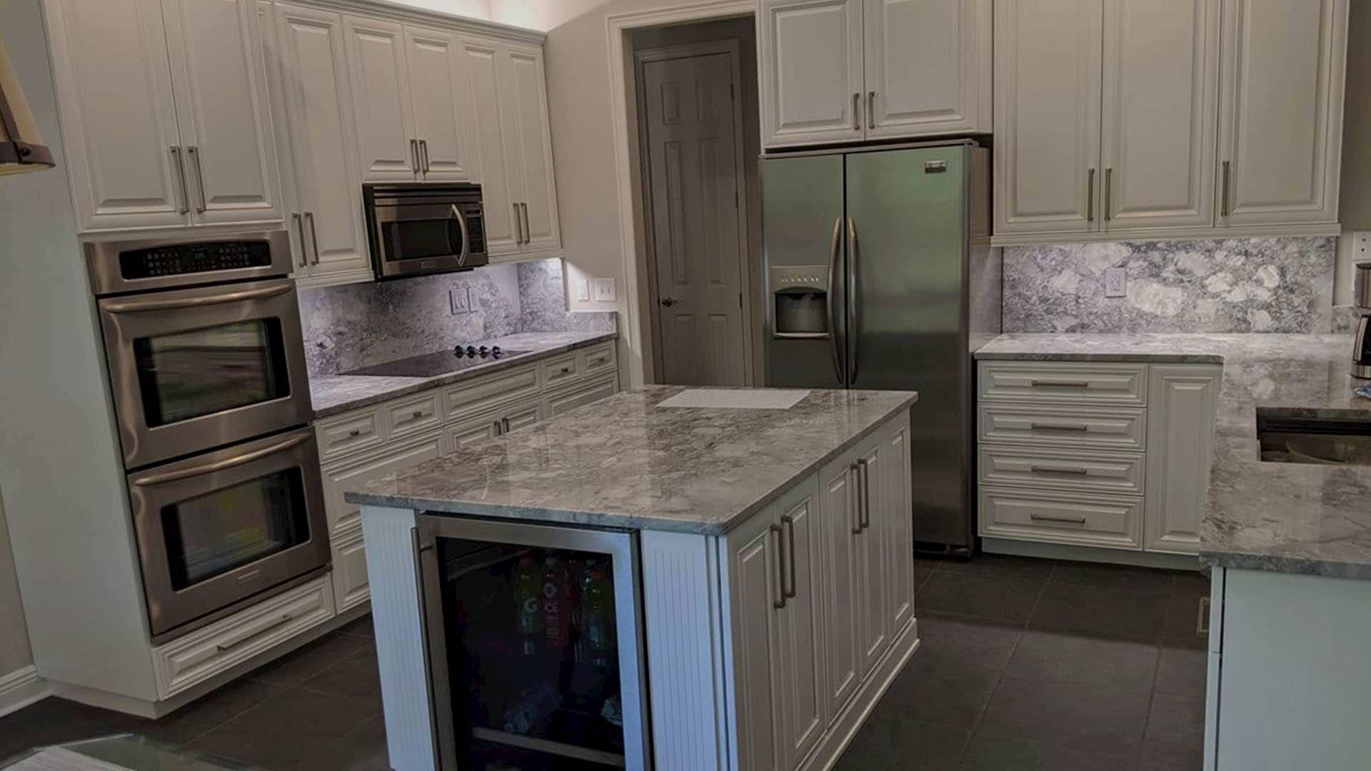 Tampa Bay Cabinet Painting Refinishing Kitchen Cabinets Wood Staining In Dunedin Fl